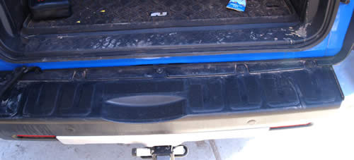 Rear Bumper Slip Protection