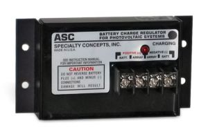 Specialty Concepts ASC-12/4 12V, 4A Solar Charge Controller