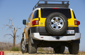 FJ Cruiser Rear Bumper